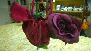 Сумка валяльная роза <nobr>5 500 руб</nobr>