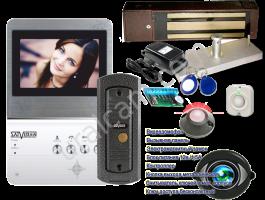 Комплект видеодомофон + магнитный замок. Цветной домофон и полный комплект электромагнитного замка! <nobr>9 950 руб</nobr>